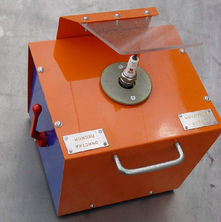 Пескоструйный аппарат для свечей зажигания